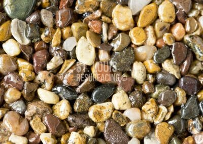 pebble-stone epoxy color